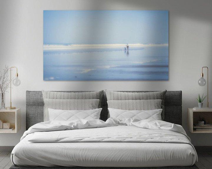 Sfeerimpressie: At the beach (2) van Rob van der Pijll