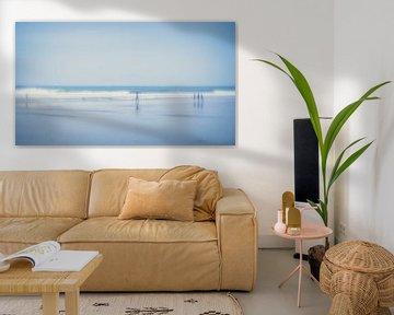 At the beach (4) von Rob van der Pijll