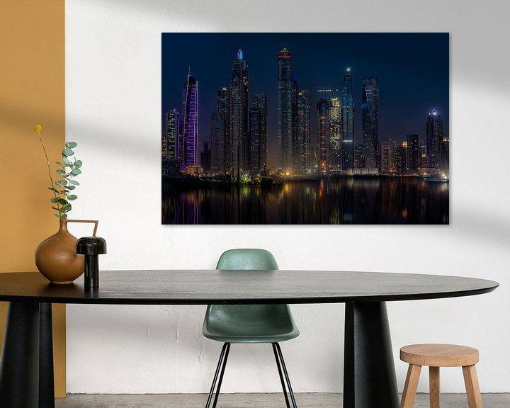 Sfeerimpressie: Dubai Marina Palm Jumeirah van Michael van der Burg