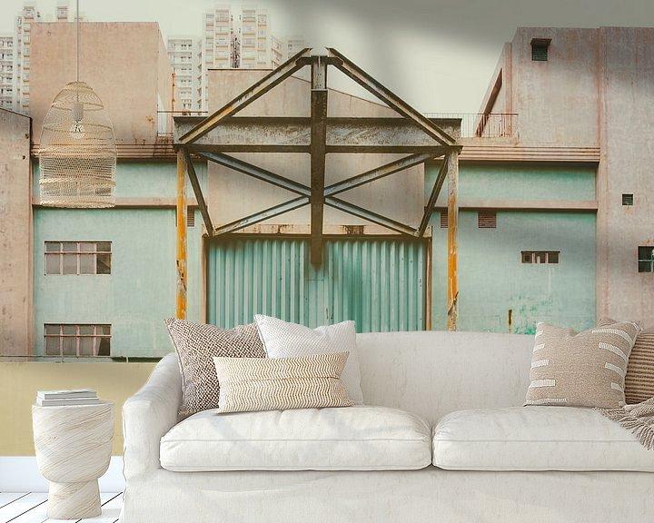 Sfeerimpressie behang: Oude fabriek van Pascal Deckarm