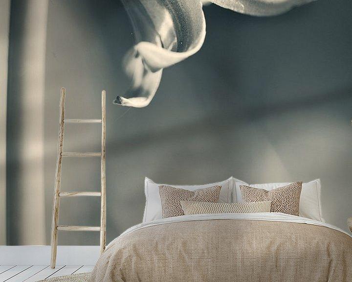 Sfeerimpressie behang: Boshyacint van Klaartje Huijben