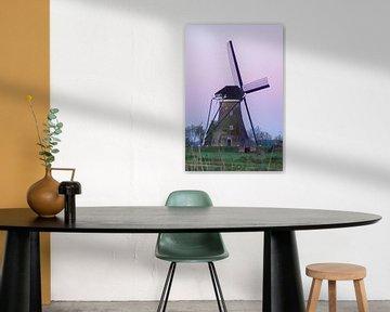 Zonsopgang bij de molen van Rossum-Fotografie