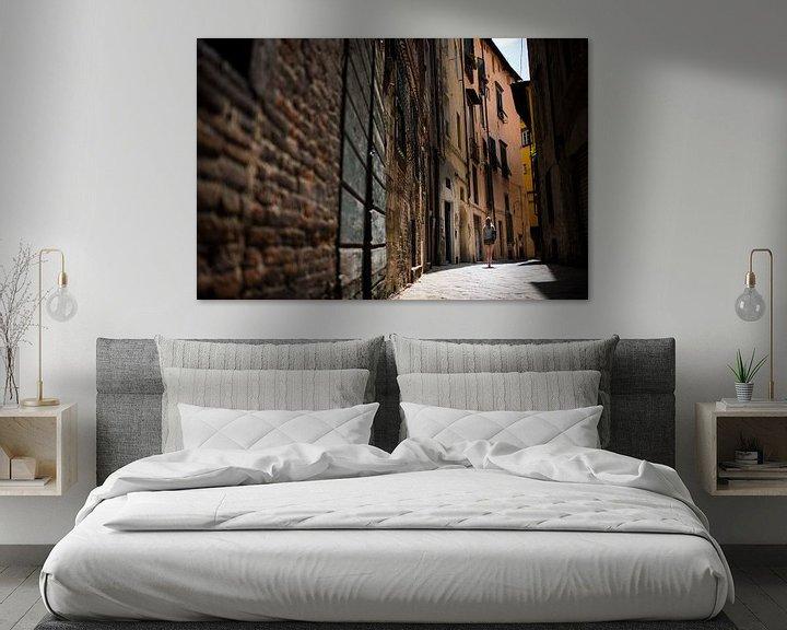 Sfeerimpressie: Lucca, italië van Mark Bonsink