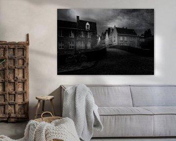 Brügge in schwarz-weiß... von Wim Schuurmans