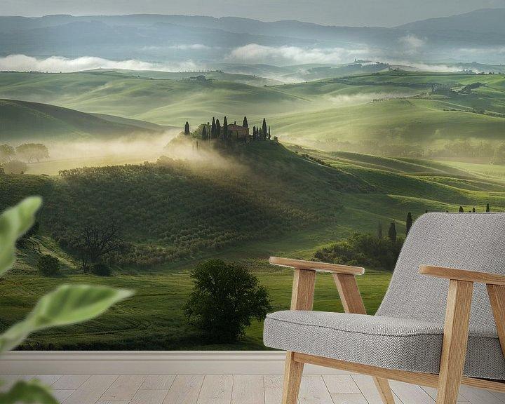 Sfeerimpressie behang: De Toscaanse droom van Edwin Mooijaart