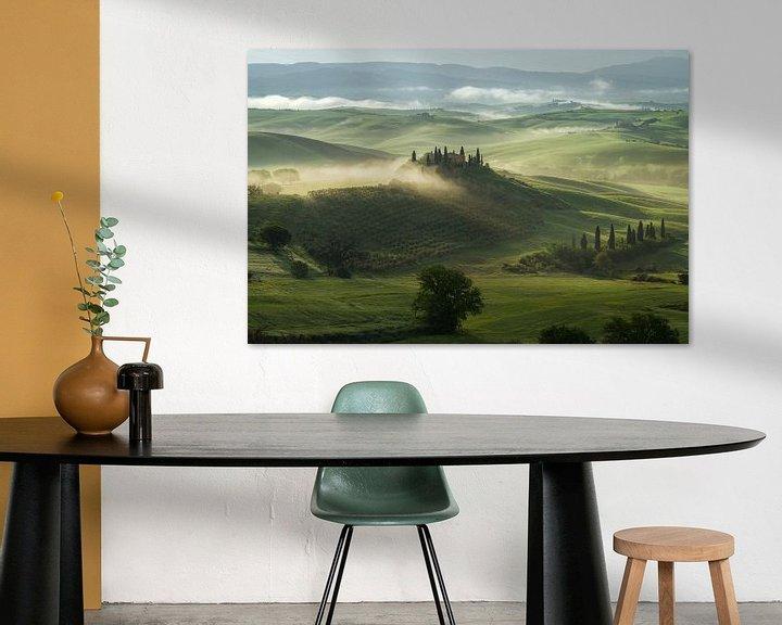 Sfeerimpressie: De Toscaanse droom van Edwin Mooijaart