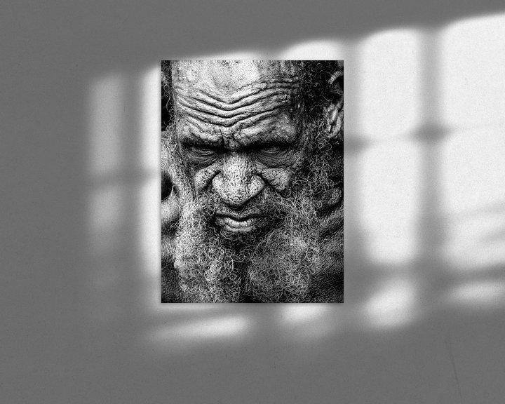Sfeerimpressie: Characteristic villager in the Napua hills van Global Heartbeats