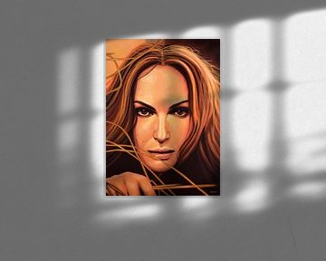 Natalie Portman Schilderij von Paul Meijering