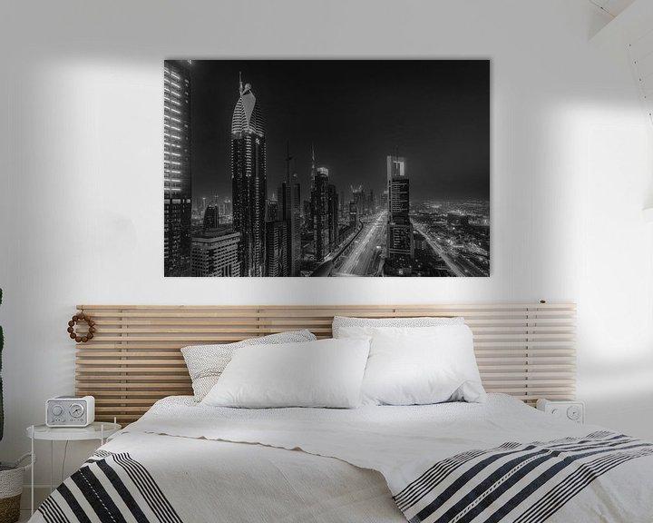 Sfeerimpressie: Dubai @ Level43  van Michael van der Burg