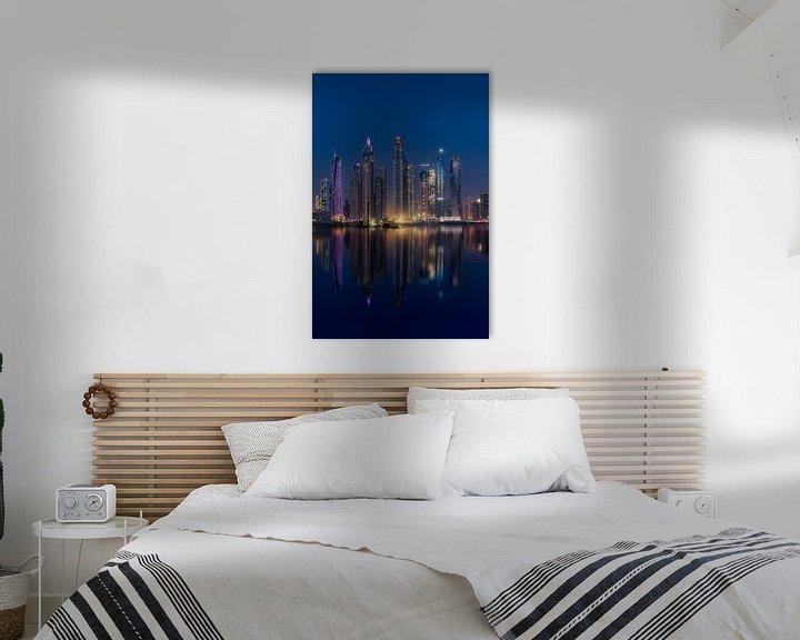 Sfeerimpressie: Dubai Marina van Michael van der Burg