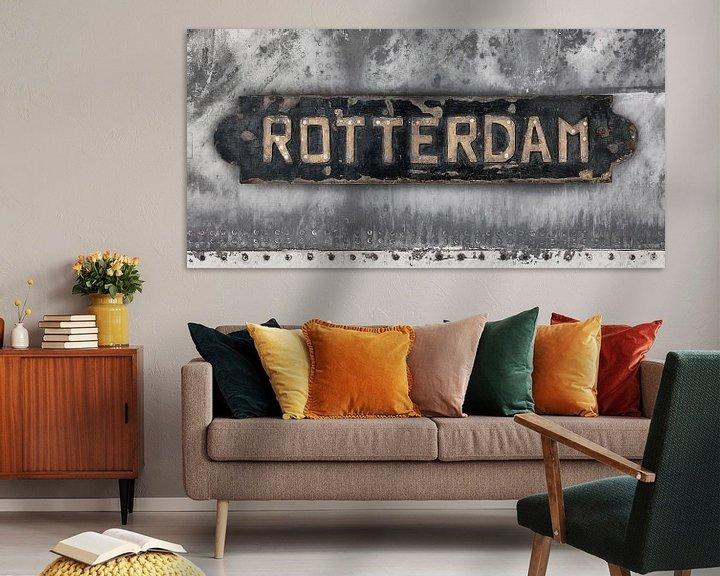 Sfeerimpressie: Oud Rotterdam van Martin Bergsma