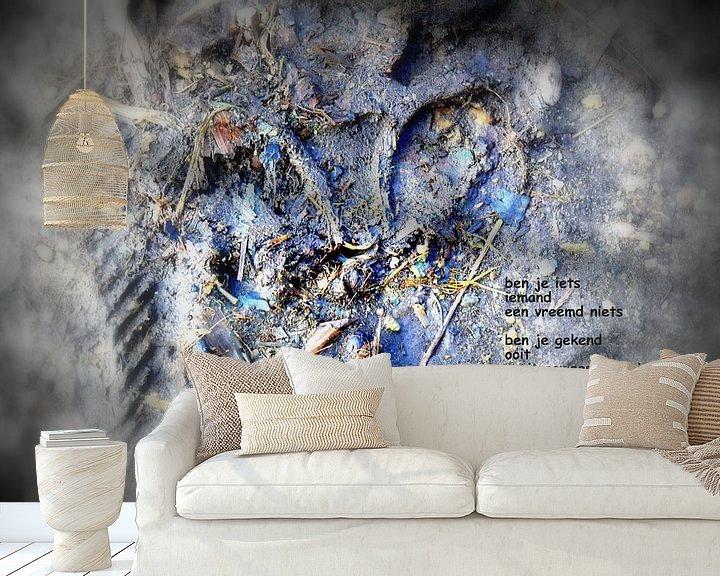 Sfeerimpressie behang: Indruk van Piet Hardendood