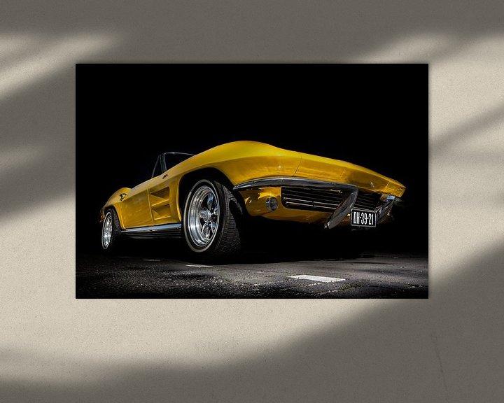 Sfeerimpressie: Chevrolet Corvette van marco de Jonge
