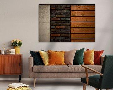 'muur' van Niels Knelis Meijer