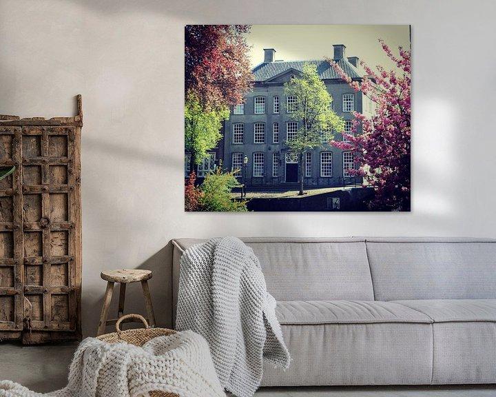 Sfeerimpressie: Beautiful old house in Amersfoort, Netherlands van Daniel Chambers