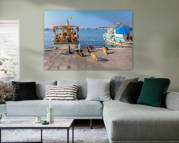 Port Pythagorion Samos sur Patrick Löbler