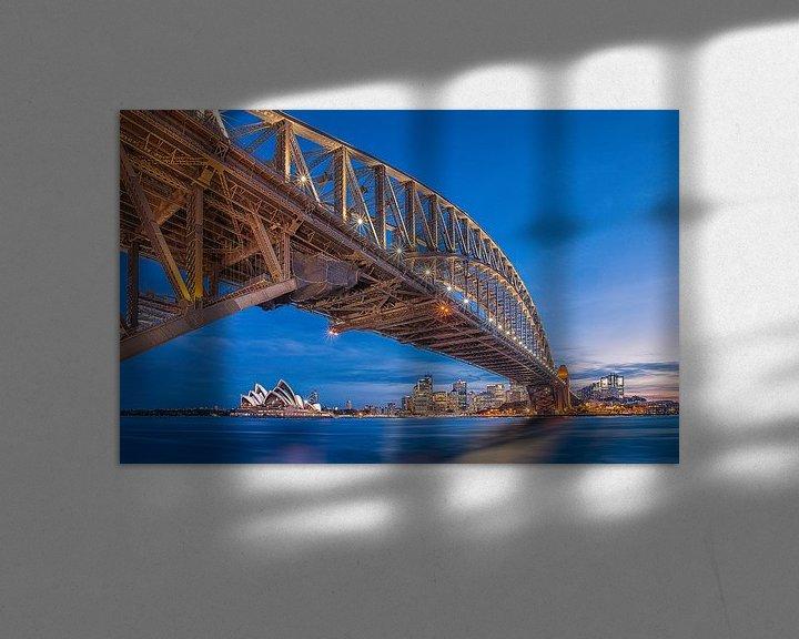 Sfeerimpressie: Harbour Bridge, Sydney van Sander Sterk