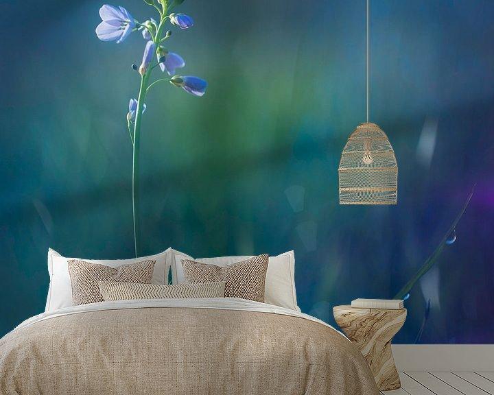 Sfeerimpressie behang: Pinksterbloem in ochtend van Arjen Hartog