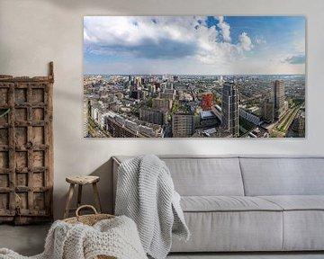 Skyline Rotterdam centrum von Midi010 Fotografie