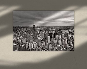 View over Manhattan, New York City.