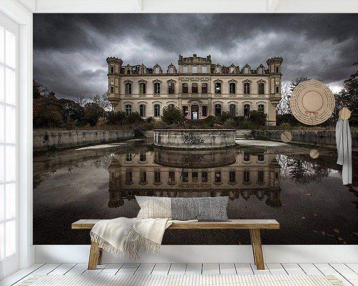 Beispiel fototapete: Schloss verlassen von Kelly van den Brande