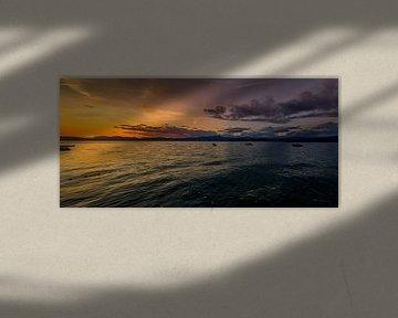 Gardameer Panorama van Dennis Donders