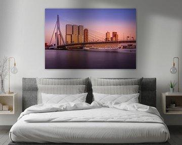 Erasmusbrug Sunset von Dennis Donders