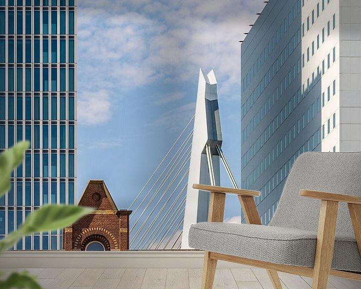 Sfeerimpressie behang: Rotterdam Kop van Zuid van Kok and Kok