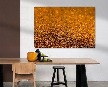 Gouden glitter van Evelyne Renske