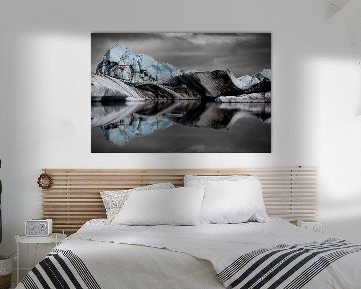 Sfeerimpressie: Icebergs in the Jökulsárlón Glacier Lagoon van Martijn Smeets