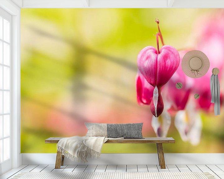 Sfeerimpressie behang: hearts... van Maja Ooms