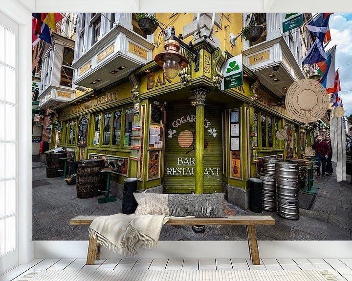 Sfeerimpressie behang: Oliver St. John Gogarty's Pub van Ronne Vinkx