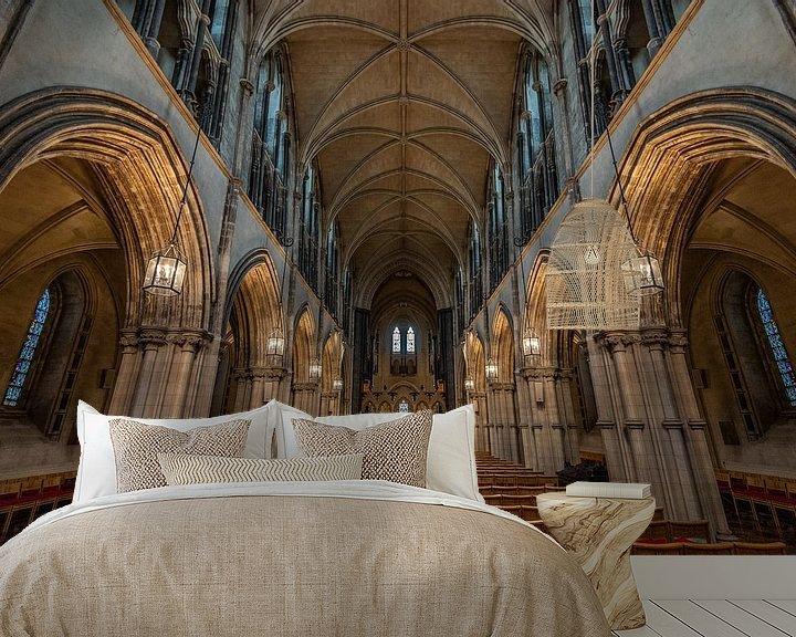 Sfeerimpressie behang: Christ Church Cathedral van Ronne Vinkx