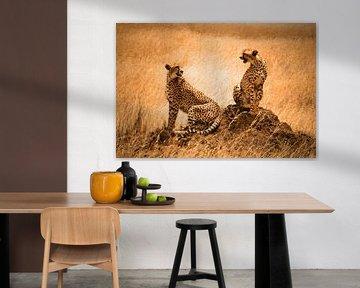 Cheetah couple von Rianne Magic moments
