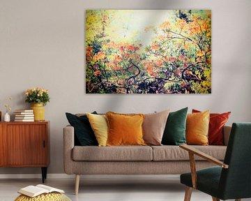 Flower Power ! sur Paula van den Akker