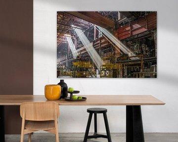 Verlassene Stahlfabrik in Belgien von Patrick Löbler