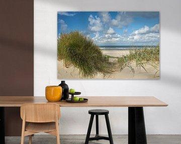 Zeezicht Texel van Ad Jekel