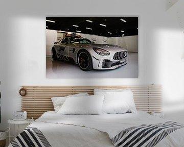 F1 safety car 2018 - Mercedes-AMG GT R sur Charrel Jalving
