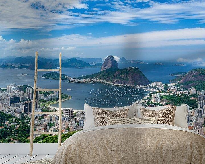Impression: Pain de sucre montagne Rio de Janeiro sur Jan van Dasler