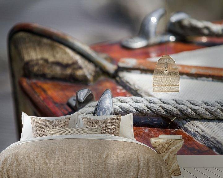 Impression: Vieux voilier en bois sur Jan van Dasler