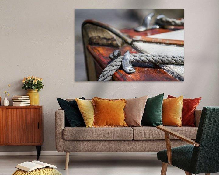 Sfeerimpressie: Oude Zeilboot van Jan van Dasler