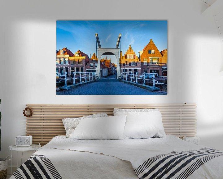 Sfeerimpressie: Stadsgezicht Alkmaar, Nederland van Hilda Weges
