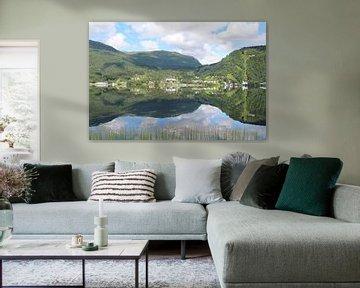 Reflectie in Noorwegen van Anouk Davidse