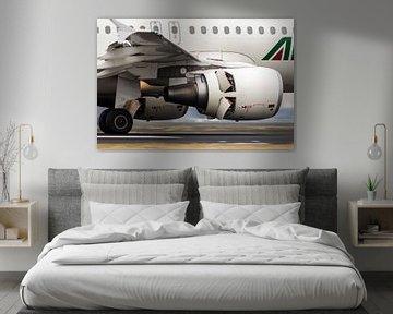 Alitalia Airbus A319 sur Nildo Scoop