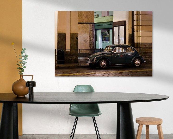 Sfeerimpressie: VW Kever in Turijn van Vincent van Kooten