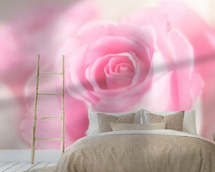 Sfeerimpressie behang: A rose just for you.. van LHJB Photography