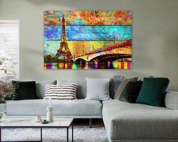 Eiffeltoren Abstract Art
