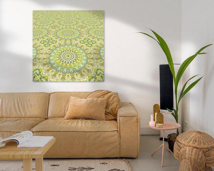 Sfeerimpressie: Mandala Perspectief 6 van Marion Tenbergen