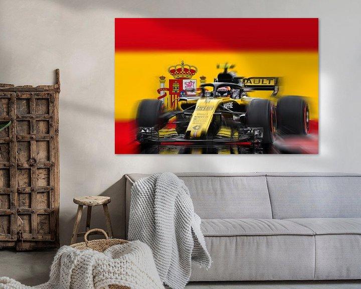 Sfeerimpressie: #55 Carlos Sainz junior - Spain van Jean-Louis Glineur alias DeVerviers