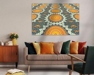 Mandala Perspektive 2 von Marion Tenbergen